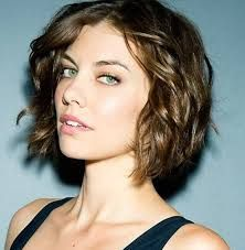 Image result for short wavy  haircuts for oval face