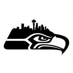 NFL Seattle Seahawks Die Cut Vinyl Decal for Windows, Vehicle Windows, Vehicle Body Surfaces or just about any surface that is smooth and clean Seahawks Football, Seahawks Store, Nfl Seattle, Seattle Seahawks Logo, Sports Art, Sports Teams, Sports Logo, Stencil Art, Stenciling