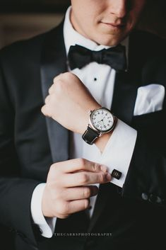 Wedding, Wedding Photography, Groom, Portraits, Details, Watch, Monogrammed Cufflinks Best of 2016 | Part One | Wedding & Engagement Photography – THE CARRS PHOTOGRAPHY WEDDINGS & PORTRAITS #weddingphotography