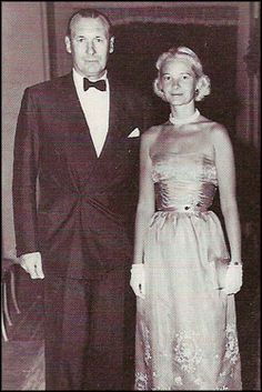 Mr. and Mrs. Winston F. C. Guest, the Everglades Club, Palm Beach, 1956...C.Z. Guest- oh! the glamour!