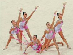 Rythmic Gymnastics group