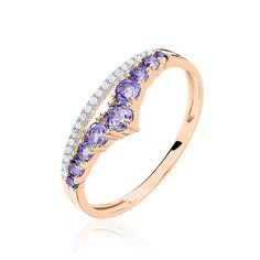 Bague Or Rose Marine Aile de Mouette - Hisoire d'Or Engagement Rings, Jewelry, Products, Color, Accessories, Enagement Rings, Wedding Rings, Jewlery, Jewerly