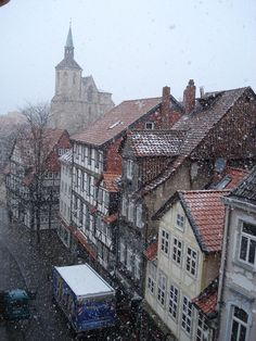 Looks VERY much like Gersfeld Rhon, where my Oma lived. Braunschweig Germany, uncredited
