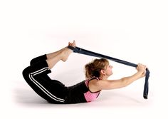 Backbend with Strap Pose.