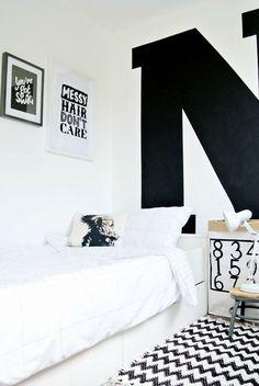 Bloesem Kids   Room Decor Inspirations: Monochrome