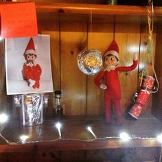 Elf on the shelf- works do