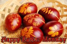 Happy Easter Monday Eggs Photos
