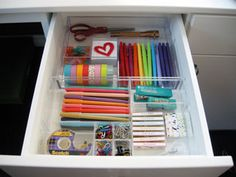 office - drawer organization