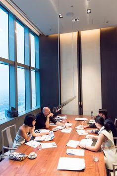 Nicole Warne in Josh Goot top, CH by Carolina Herrera pants, Calvin Klein bracelets & ring -  Guest judge for Calvin Klein Watch + Jewelry Design Contest - In Shanghai, China.  (2014)
