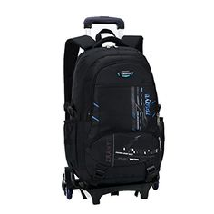 38cf7336b1 Amazing offer on YOUBAG YUB Children School Bags Backpack Students Trolley  Wheels Bags Rolling Backpacks Kids Blue online