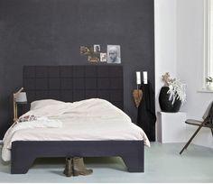 Bed Connect 120 x 200 cm Zwart