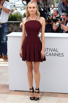 Diane Kruger en el photocall del Festival de Cannes