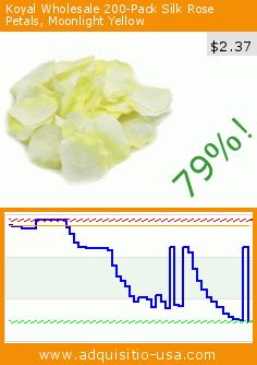 Koyal Wholesale 200-Pack Silk Rose Petals, Moonlight Yellow (Misc.). Drop 79%! Current price $2.37, the previous price was $11.09. https://www.adquisitio-usa.com/koyal-wholesale/wholesale-200-pack-silk-26