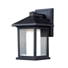 Shop Z-Lite  Mesa Outdoor Sconce at Lowe's Canada. Find our selection of outdoor wall lighting at the lowest price guaranteed with price match + 10% off.