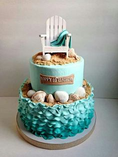 beach cakes - Google Search