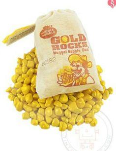Gold rock gum