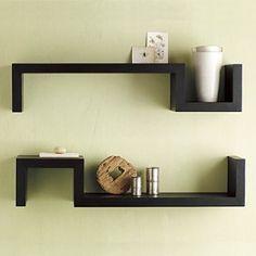 Wall shelves.  Декоративные полки в интерьере: что выбрать, как оформить + 50 вариантов