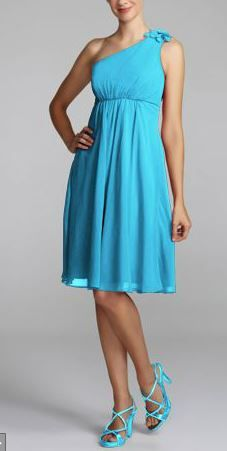 David's Bridal - Malibu Blue (love this blue!)