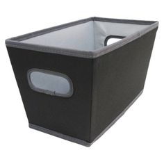 Room Essentials Small Tapered Bin Black Set of 4 $19.99