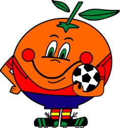 Do you remember Naranjito (Little Orange) from the Spanish World Cup held in España History Of Soccer, World Cup Logo, Real Zaragoza, Soccer Logo, 80s Theme, Manchester United Football, Patras, Retro Logos, Cartoon Design