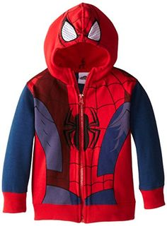 Marvel Little Boys' Spiderman Fleece Masked Hoodie, Tango Red, 2T Marvel http://www.amazon.com/dp/B00GB39ONO/ref=cm_sw_r_pi_dp_laAcvb0VDNV08