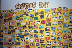 Gracias Por bulletin board would be good to do around thanksgiving time
