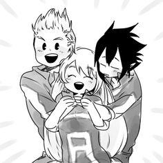 Mirio Togata / Tamaki Amajiki / Nejire Hadou / Boku no hero academia Boku No Hero Academia, My Hero Academia Memes, Hero Academia Characters, My Hero Academia Manga, Manga Anime, Anime Art, Tamaki, Anime Friendship, Big Three