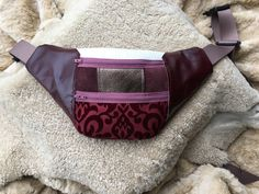 Fanny Pack- Recycled Leather  by moonstoneleather on Etsy https://www.etsy.com/listing/500271264/fanny-pack-recycled-leather