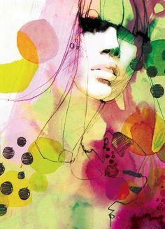 Ekaterina Koroleva, dessins stylisés | Partfaliaz
