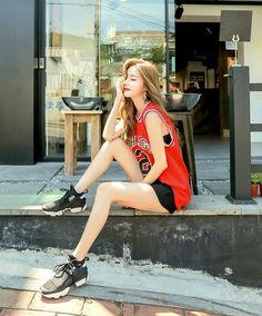 Boyish Outfits, Girl Outfits, Cute Outfits, Cute Fashion, Asian Fashion, Girl Fashion, Skinny Inspiration, Boyish Style, Asian Model Girl