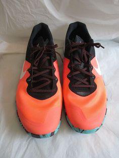 ce203212f297 Nike Mens Run Neon Orange Black Style 819899-813 Size 18 Brand New No Box