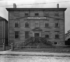 Many a poor man came to New Bedford looking to sign on for a voyage. Many had no place to stay so the Rotches, a fabulously wealthy couple, built this home for mariners. Williams Street, Take Shelter, New Bedford, Cape Verde, Dartmouth, Local History, Nova Scotia, Massachusetts, New England
