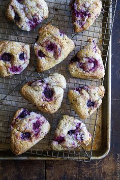 Mixed Berry and Jasmine Tea Scones - Bakers Royale
