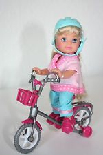 Simba Evi Shelly kleine Puppe Fahrrad Dreirad NEU!!! mit OVP