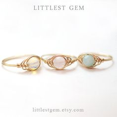 Herringbone Ring, 14k Gold Filled ring, wire wrapped ring, wire wrapped jewelry handmade, unique rings, gemstone ring, custom ring