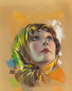 Pin-up and Glamour Art, ROLF ARMSTRONG (American, Betty Blythe, Photoplaymagazine cover, September Pastel on board. 18 x 14 i. Rolf Armstrong, Pin Up Vintage, Looks Vintage, Vintage Ladies, Vintage Woman, Vintage Glam, Vintage Images, Pinup Art, Vintage Artwork