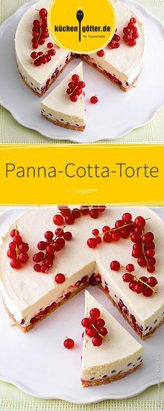 Diese fruchtige Sommertorte mit Beeren und in den italienischen Nationalfarben wird nicht nur eure Gäste aus dem Süden begeistern.