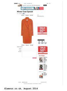Glamour.co.uk Fashion Couple, Winter Coat, Glamour, Shopping, The Shining, Winter Coats