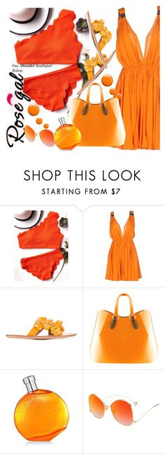 """""""Win $20 Cash from Rosegal!"""" by selmir ❤ liked on Polyvore featuring Plein Sud, See by Chloé, Aevha London, Hermès and Topshop"""