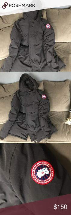Used womens canada goose jacket for sale