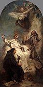 """New artwork for sale! - """" Piazzetta Giovanni Battista Three Dominican Saints by Giovanni Battista Piazzetta Approx """" - http://ift.tt/2pSnqtq"""