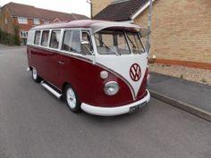 Volkswagen Splitscreen camper van