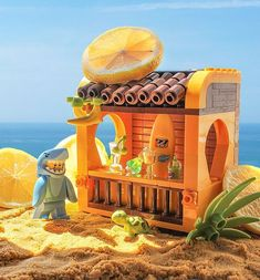 Get More Traffic - Viral Trending Content Village Lego, Bloc Lego, Lego Beach, Legoland, Technique Lego, Lego Hacks, Casa Lego, Construction Lego, Lego Creative
