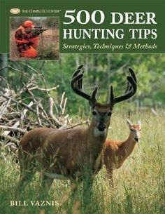 500 Deer Hunting Tips, Strategies, Techniques And Methods By Bill Vaznis, 9781589233522., Lifestyle & Fashion