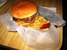 Bomber Inn burger..the best!  http://frederickokchamber.org/