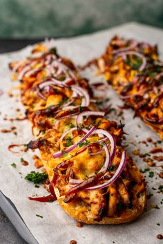 Lunch Snacks, Savory Snacks, Diner Recipes, Tapas, Good Food, Yummy Food, Bbq Chicken, Pulled Chicken, Happy Foods