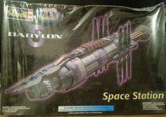 Revell Babylon 5 Deluxe Space Station model kit UNOPENED #Revell