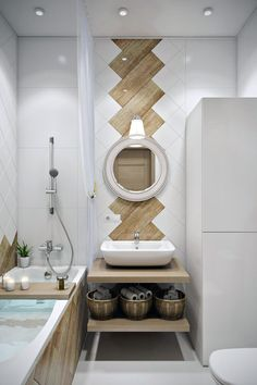 Bathrooms are not just bathrooms anymore and some principles of modern bathroom need to be incorporated in designing a bathroom space using modern design. Modern bathroom design has lines that are… Wooden Bathroom, Diy Bathroom Decor, Modern Bathroom Design, Bathroom Interior Design, Bathroom Designs, Bathroom Ideas, Bathroom Small, Master Bathrooms, Modern Design