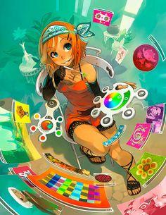 Ilustración. Personajes para videojuegos de GUEUZAV  Desde Francia, algo de ilustración tipo manga para videojuegos.    Leer más: http://www.colectivobicicleta.com/2012/06/manga-de-gueuzav-aka-xavier-houssin.html#ixzz1yXF3P5ah