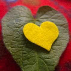 Valentine's Day Card | @FairMail - Fair Trade Cards | Leaf, Nature, Heart